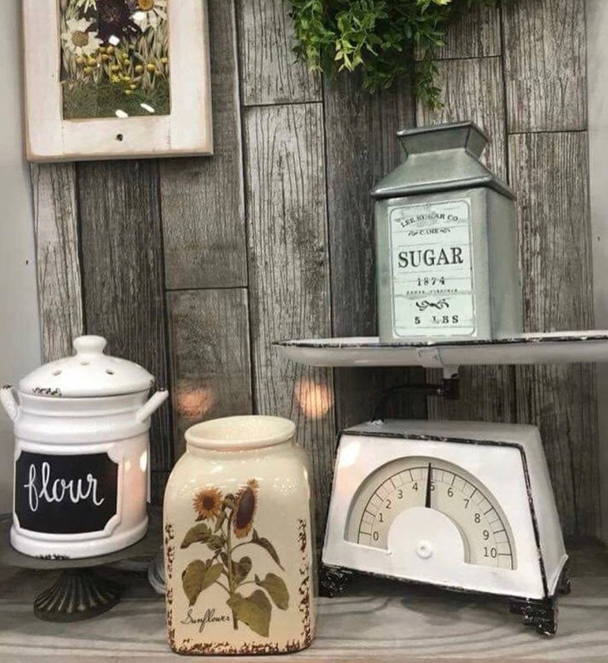 Canister Sugar Sunflower Scentsy